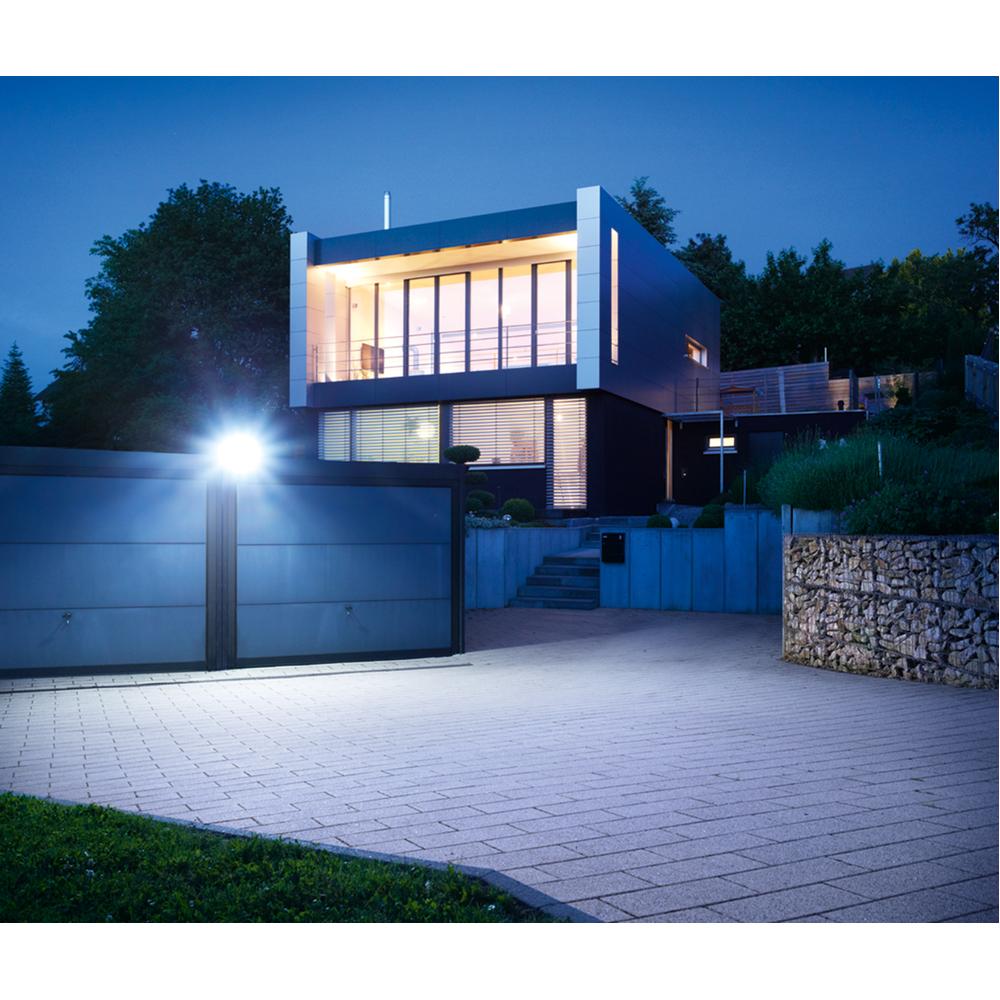 Steinel Buitenspot XLED Home 3 Slave zilver, 4000K