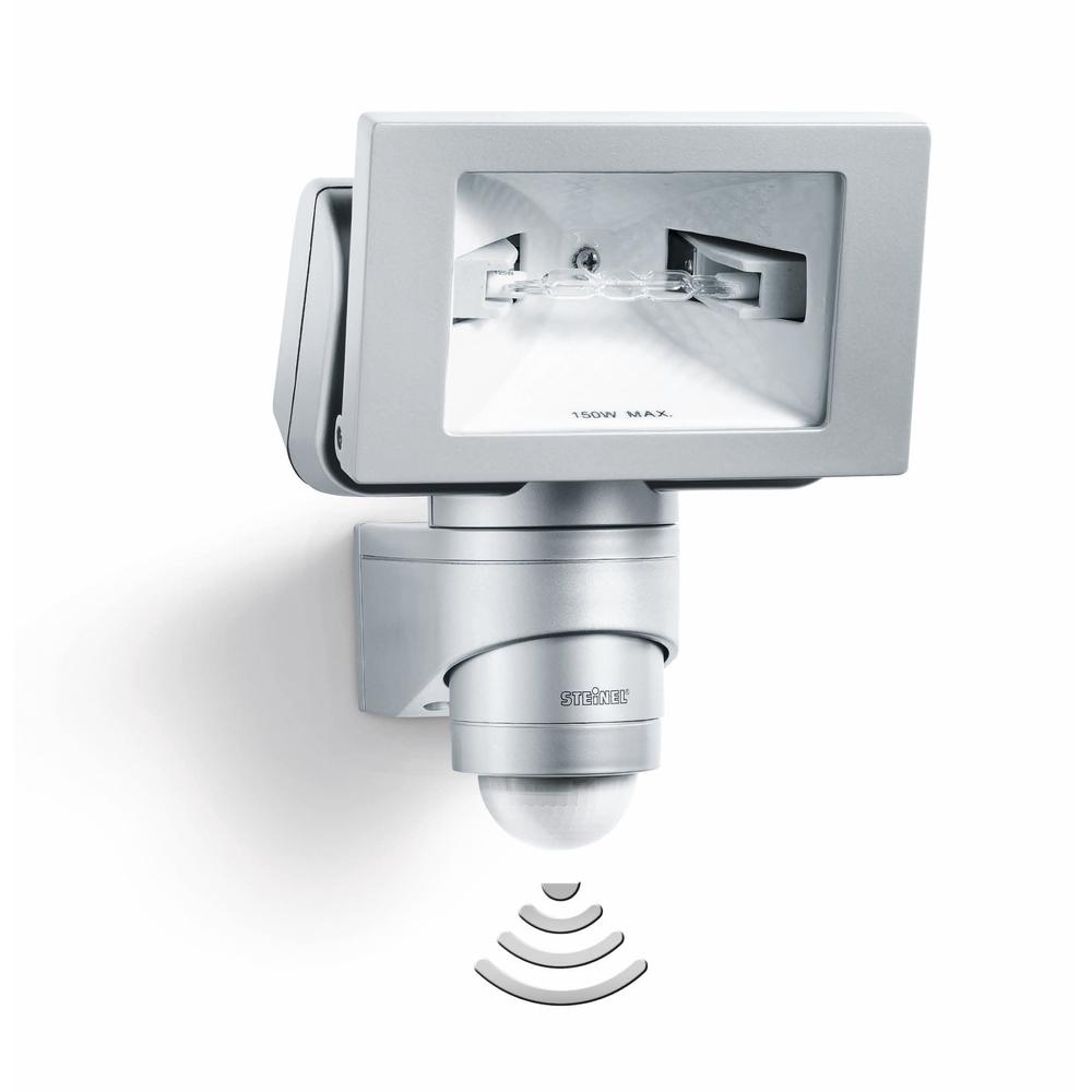 Steinel Sensor Buitenspot HS 150 DUO platina