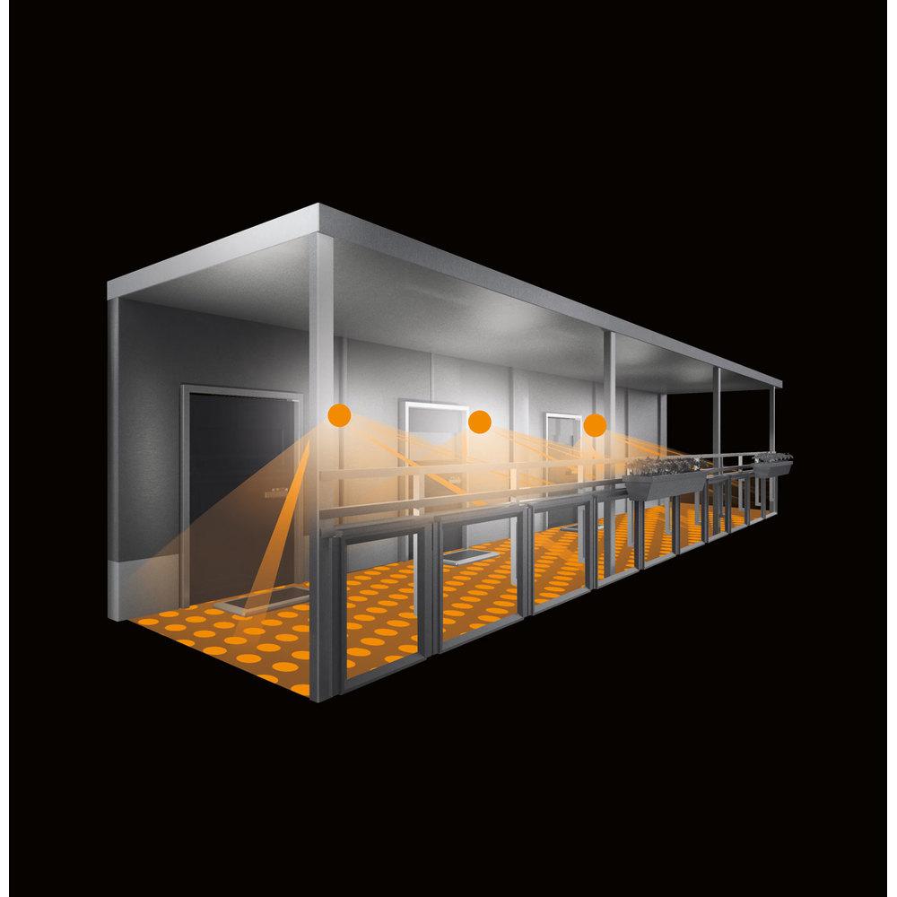 Steinel Sensor Buitenlamp L 691 LED PMMA zilver