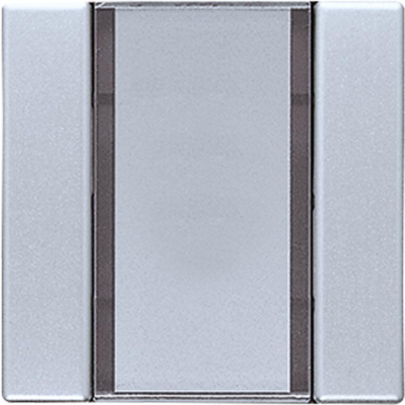 KNX/FUNK tastafd. LS 1-v. aluminium