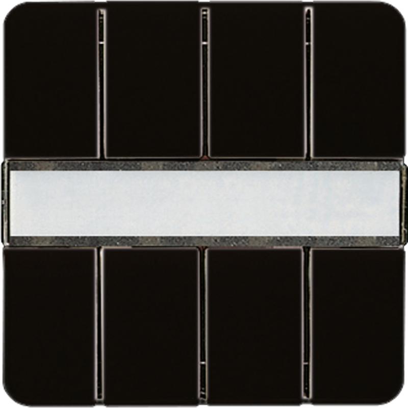 KNX/FUNK tastafd. CD 4-v. zwart