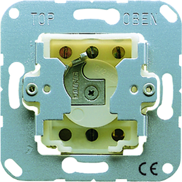 Sleutelschakelaar jaloezie 2-polig