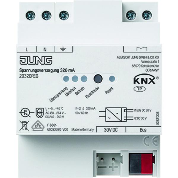 KNX voedingseenheid 320 mA