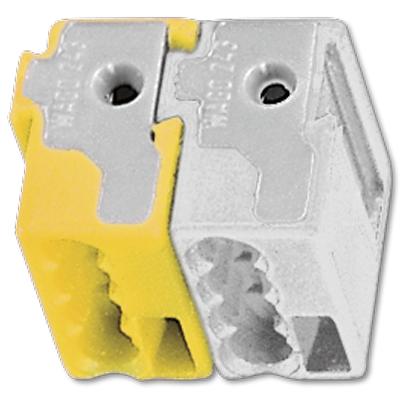 KNX busaansluitklem geel/wit