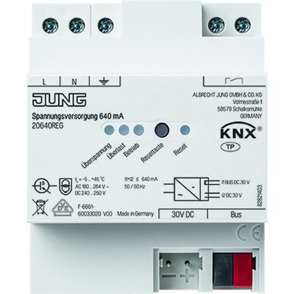 KNX voedingseenheid 640 mA