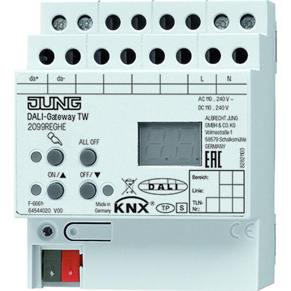 KNX DALI-gateway tunable white