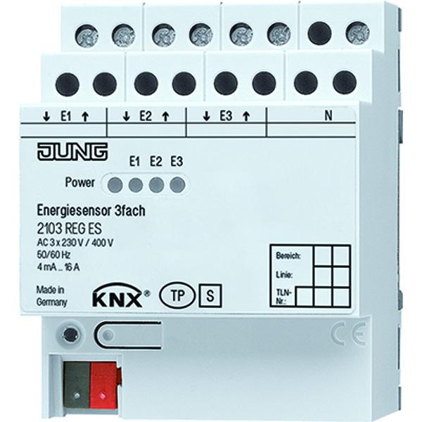 KNX Energiesensor 3  voudig