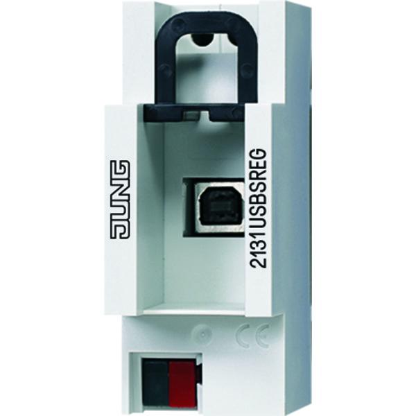 KNX USB-data-aansluiting