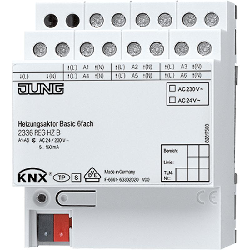 KNX verwarmingsactor Basic 230/24V