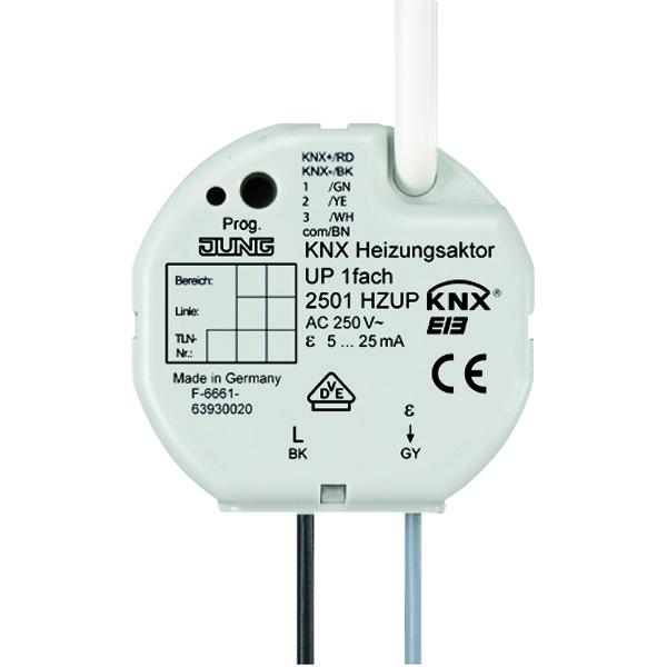 KNX Verwarmingsactor 1v inbouwdoos