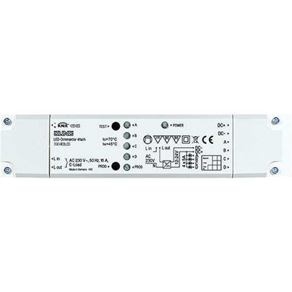 KNX LED dimactor 4v 12-24VDC opbouw