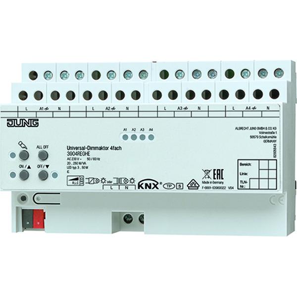 KNX Dimactor universeel 4x250VA