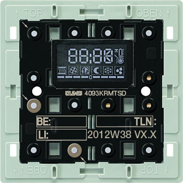 KNX ruimtecontroller-module compact