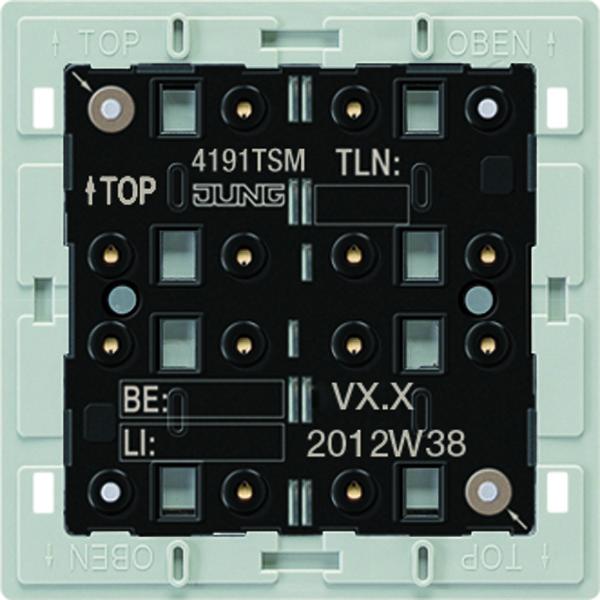 KNX Taster-module univ. 1-v. temp.sensor