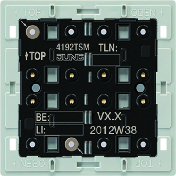 KNX Taster-module univ. 2-v. temp.sensor