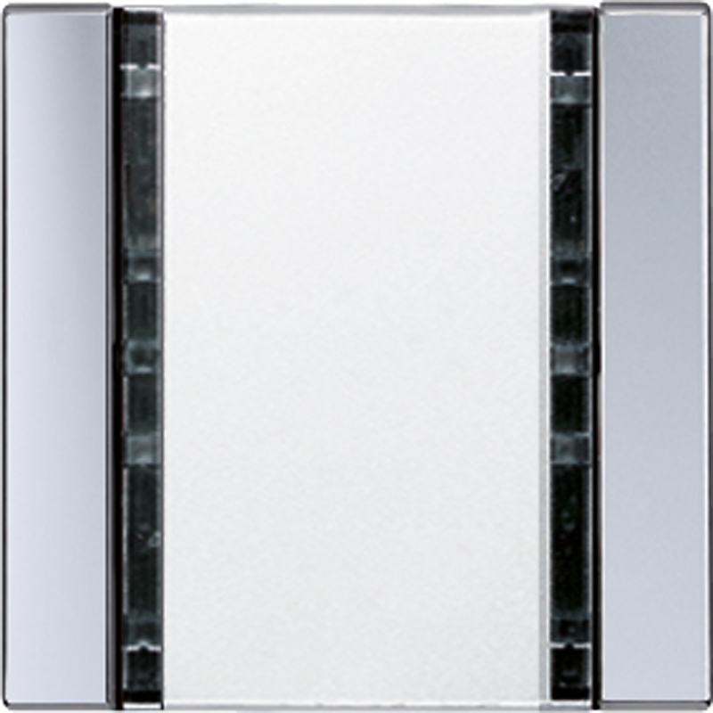 KNX/FUNK tastafd. A/AS 1-v. aluminium