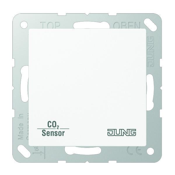 KNX CO2 Sensor A/AS slagv. Alpin wit