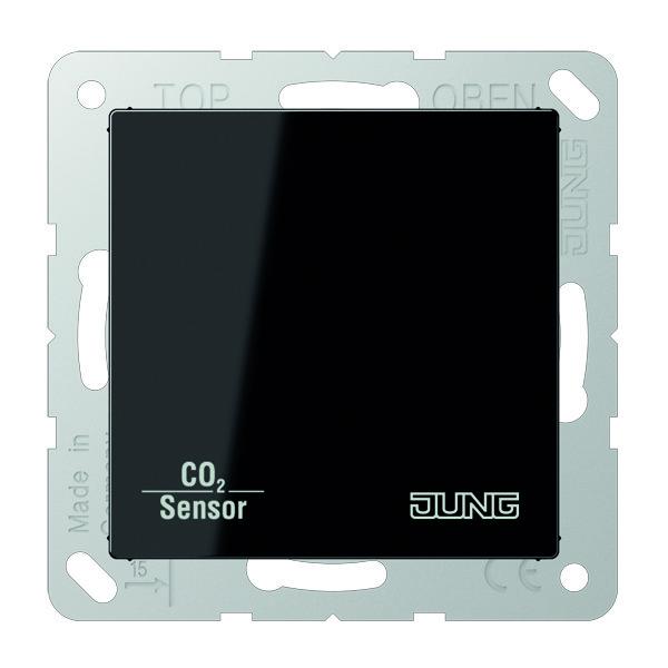 KNX CO2 Sensor AS500 zwart