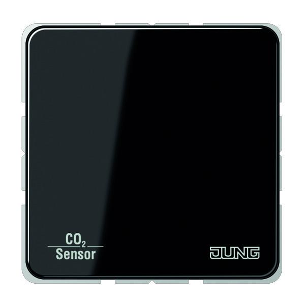 KNX CO2 Sensor CD500 zwart