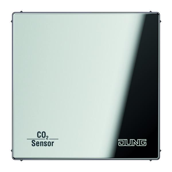 KNX CO2 Sensor LS990 glanzend chroom