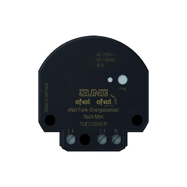 eNet energiesensor 1-kanaals, inbouw