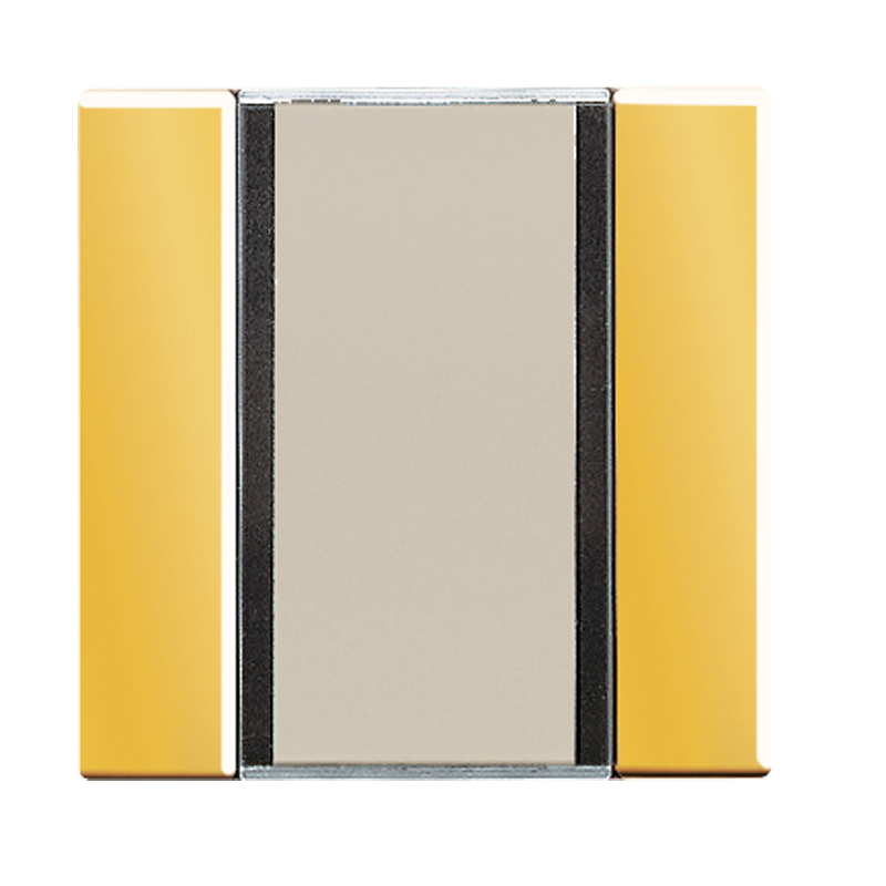 KNX/FUNK tastafd. LS 1-v. goudkleur