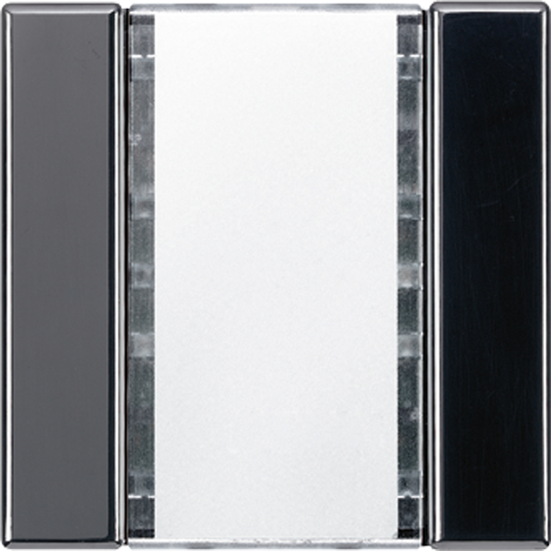 KNX/FUNK tastafd. LS 1-v. zwart
