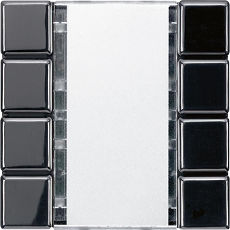 KNX/FUNK tastafd. LS 4-v. zwart