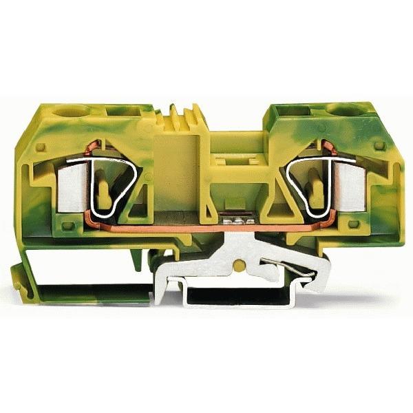 283-907 WAG AARDKLEM 16MM2 GR/GE