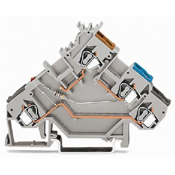 280-560/281-434 WAG INITIATORKLEM MET LED 24V/