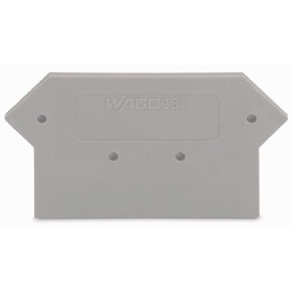 280-330 WAG AFSLUIT-/TUSSENPLAAT GRIJ