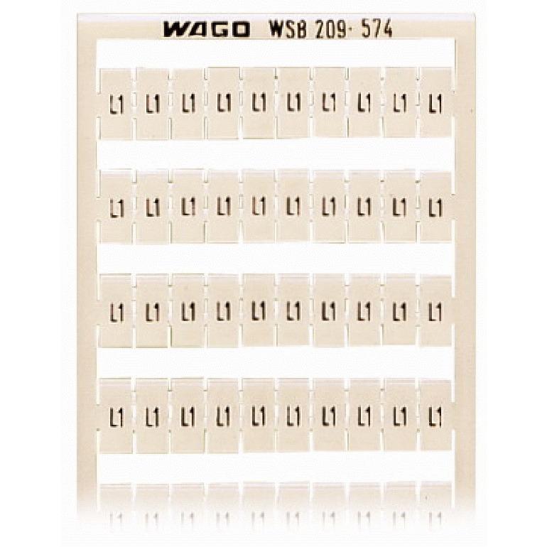 209-574 WAG WSB-MARK.OPDRUK L1 (100X)