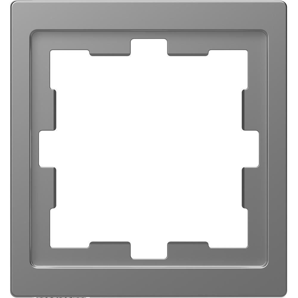 AFDEKRAAM 1V D-LIFE KUNSTSTOF RVS-LOOK