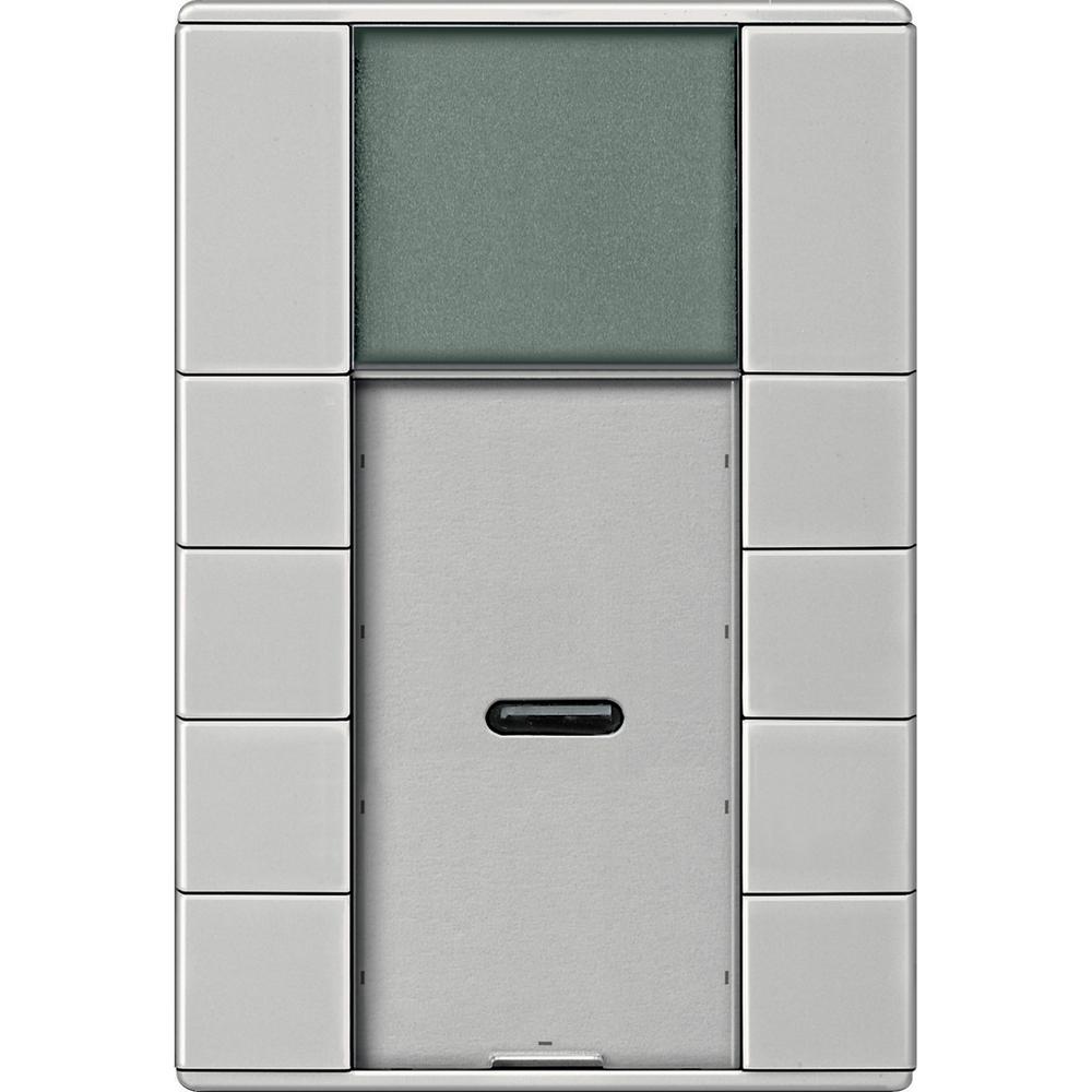 Schneider Electric KNX 4v taster met temp. regelaar  - MTN6214-4146
