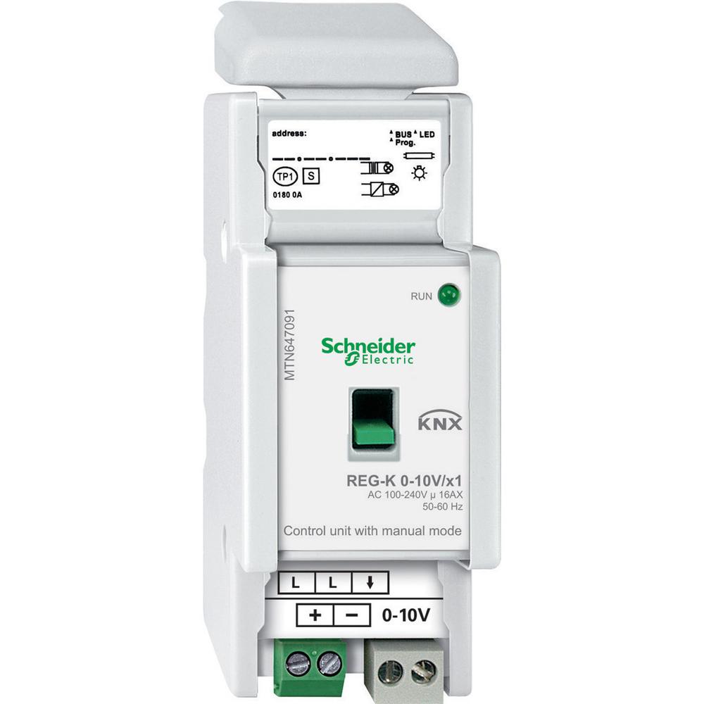 Schneider Electric Merten KNX best.eenheid 0-10V 1 kan. - MTN647091