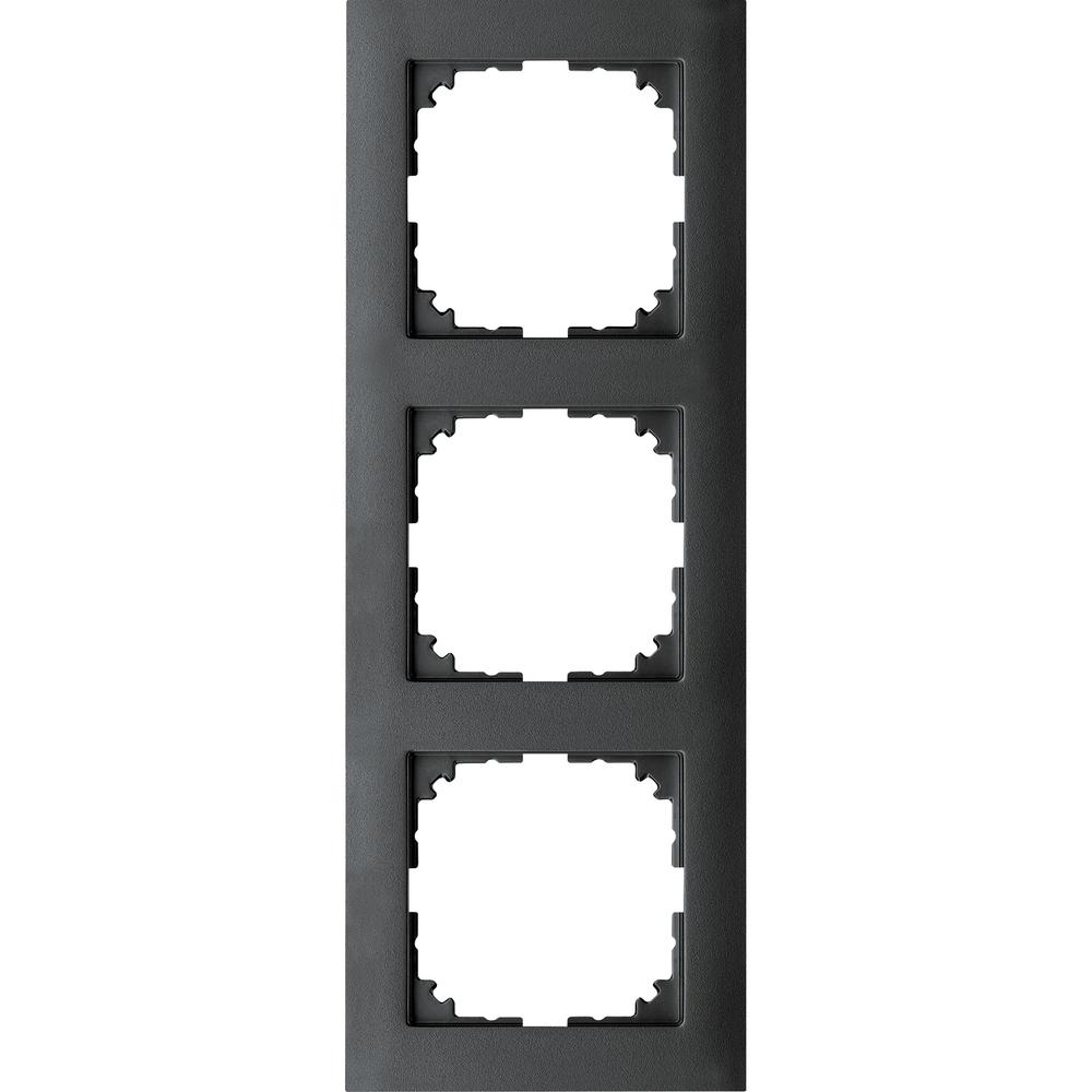 AFDEKRAAM 3V M-PURE KUNSTSTOF ANTRACIET