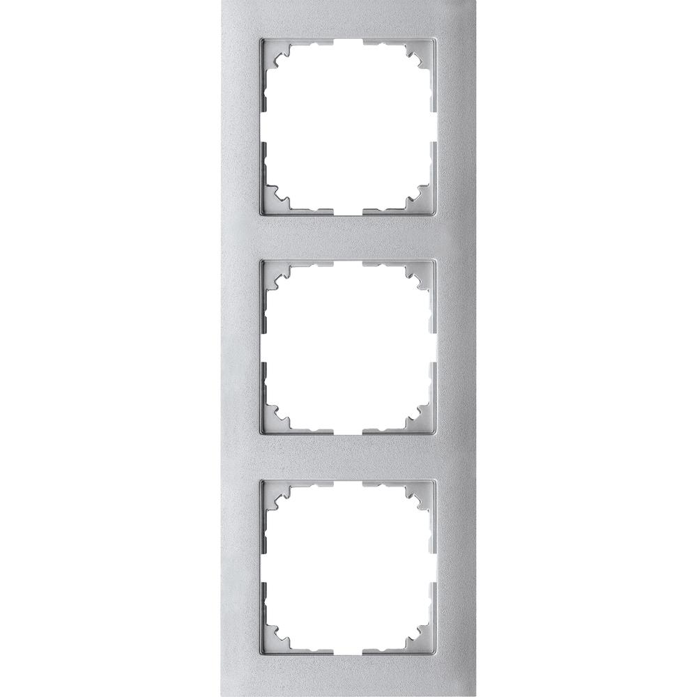 AFDEKRAAM 3V M-PURE KUNSTSTOF ALUMINIUM