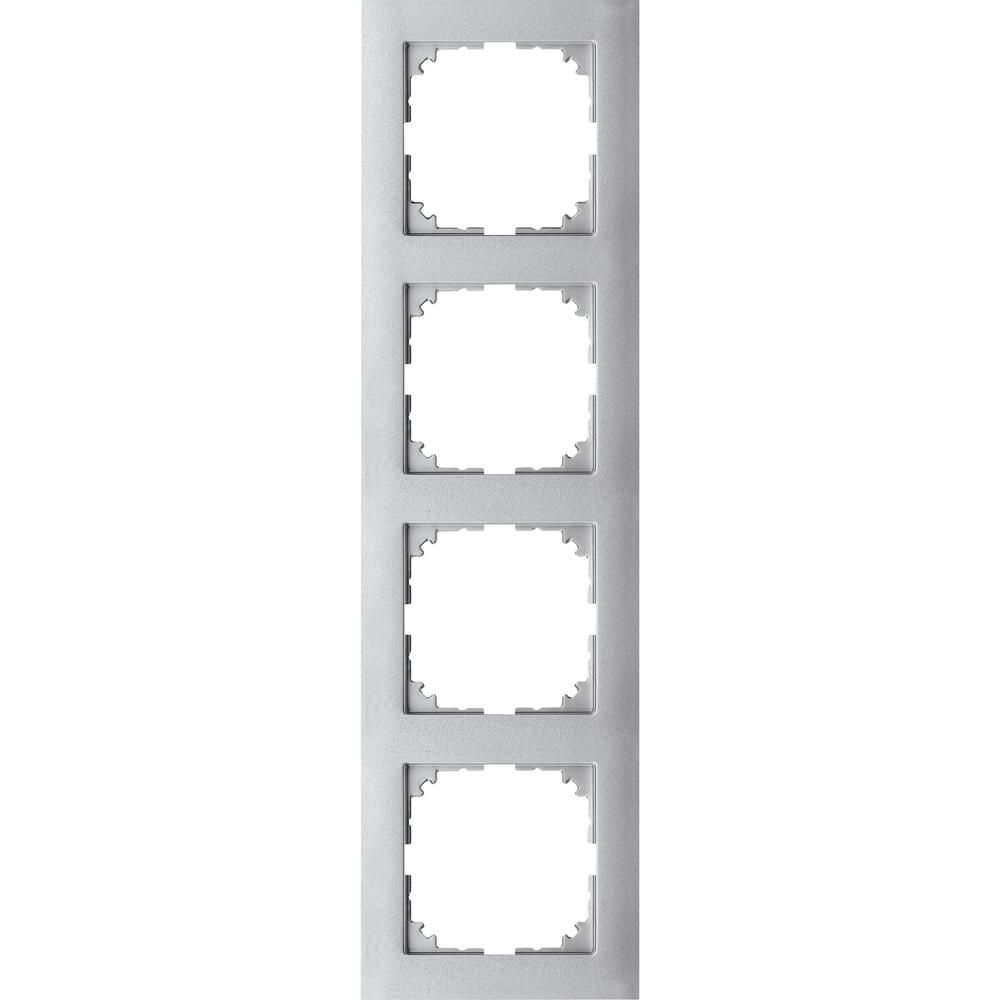 AFDEKRAAM 4V M-PURE KUNSTSTOF ALUMINIUM