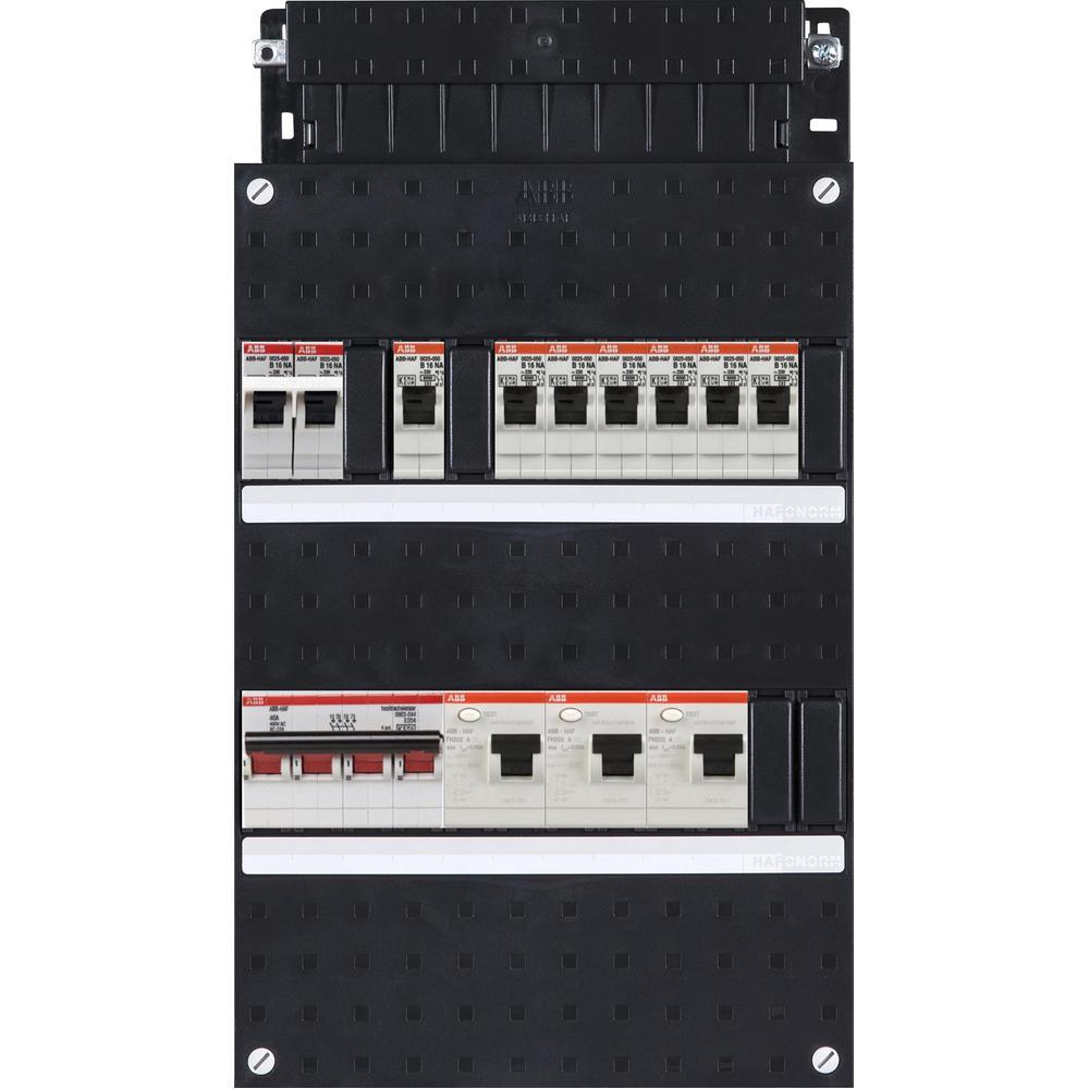 HAD333331-222F+H44 ABB GROEPENKAST M/HOOFDSCHAK.