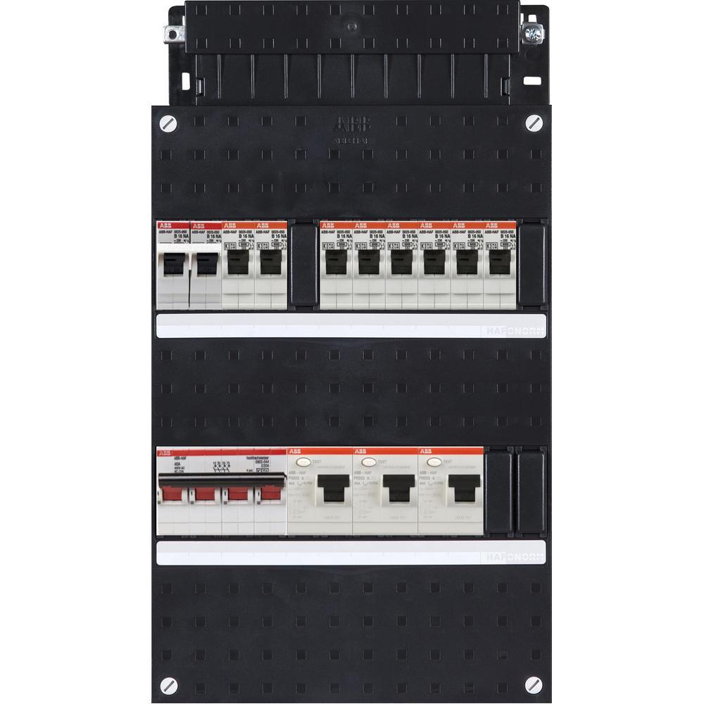 HAD333332-222F+H44 ABB GROEPENKAST M/HOOFDSCHAK.