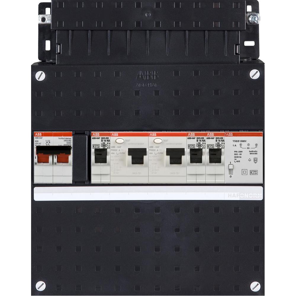 HAD3231-22T+H42* ABB GROEPENKAST 3GRP 220X220MM