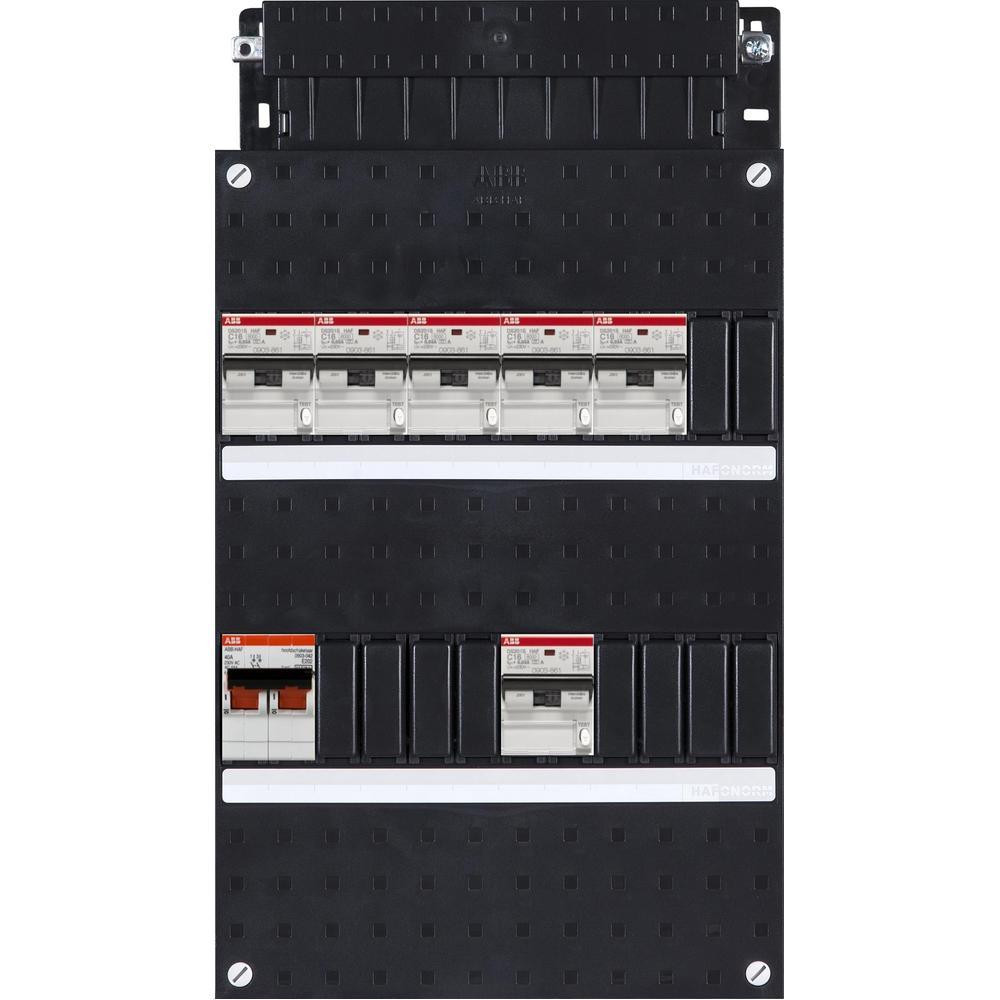 HC600/1+OV2+H42 ABB 6X 16A/30MA+HS+OV2 1F.
