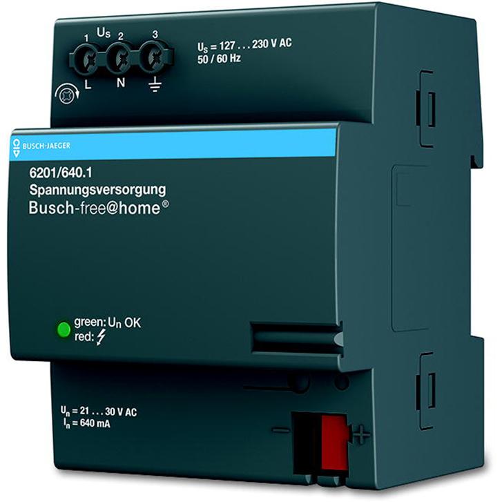 6201/640.1 BUS FAH VOEDING 640MA DIN-RAIL