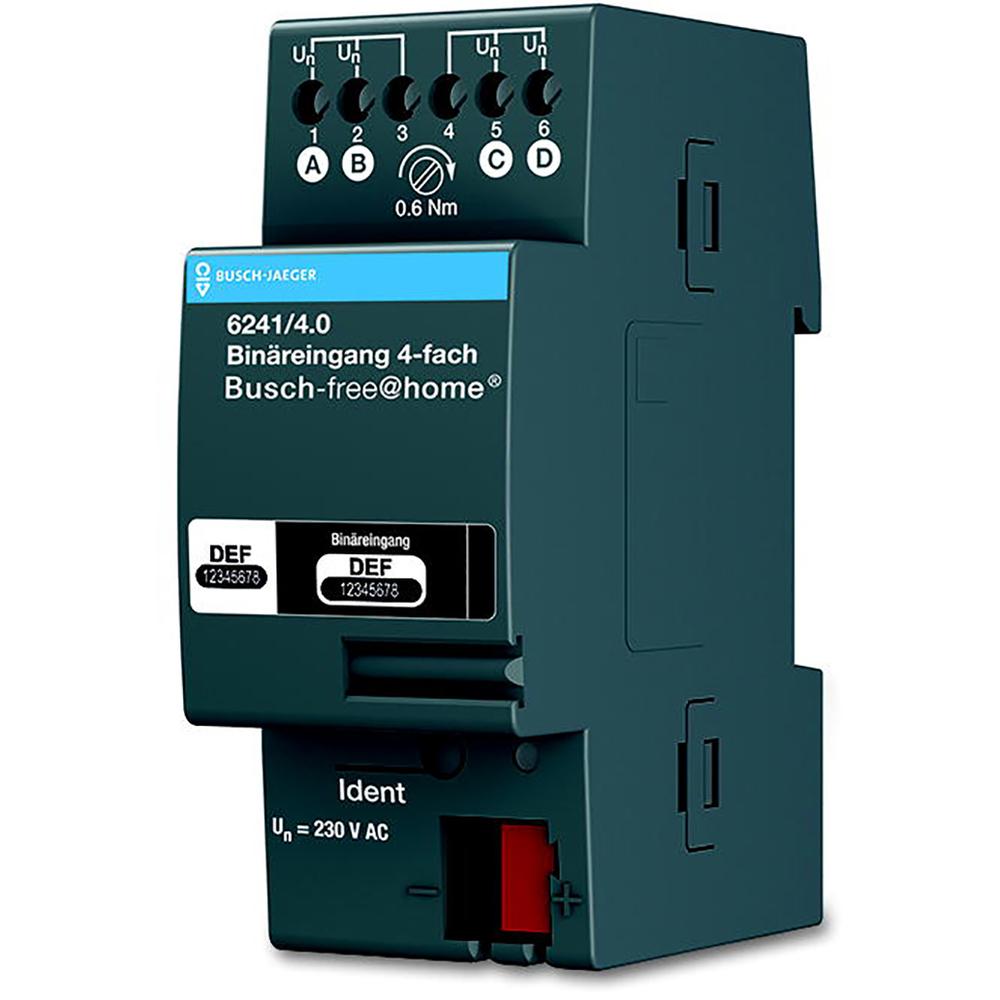 6241/4.0 BUS FAH BIN.ING.4V 230V DIN-RA