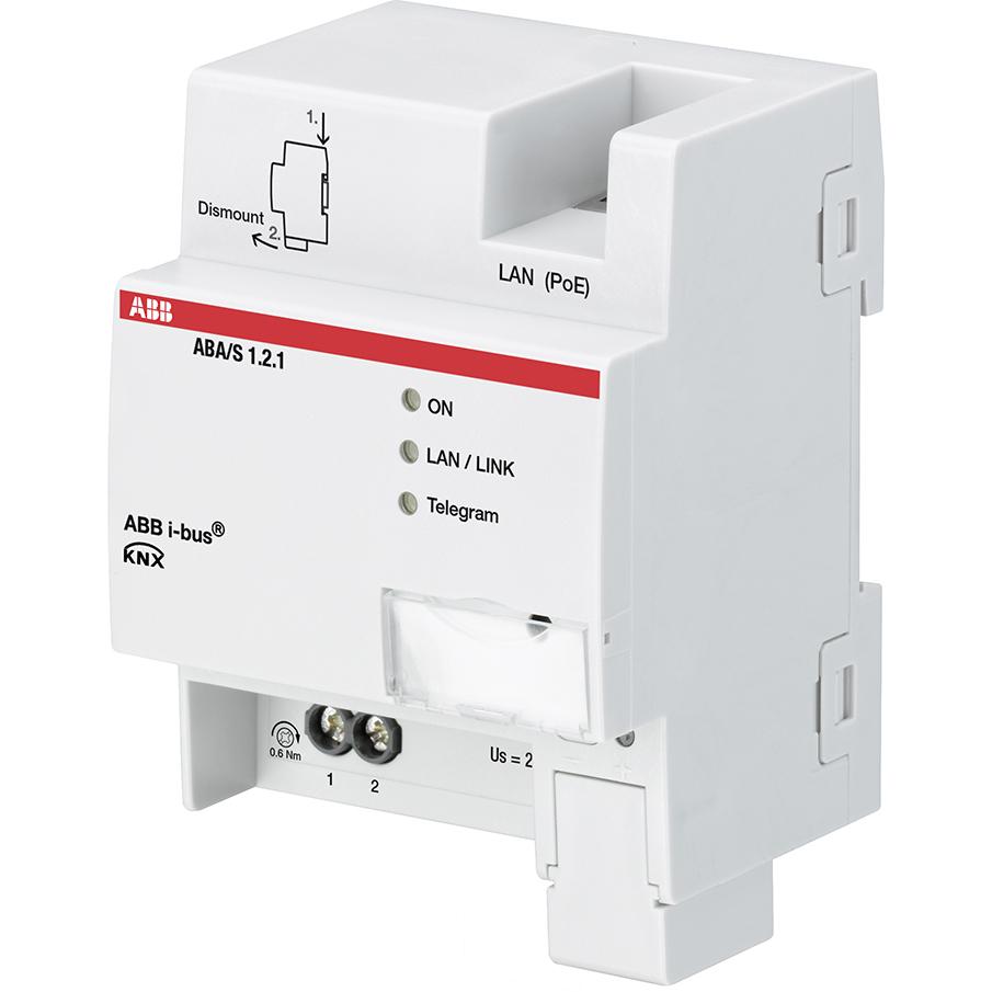 ABA/S 1.2.1 BUS KNX LOGIC CONTROLLER DIN-R