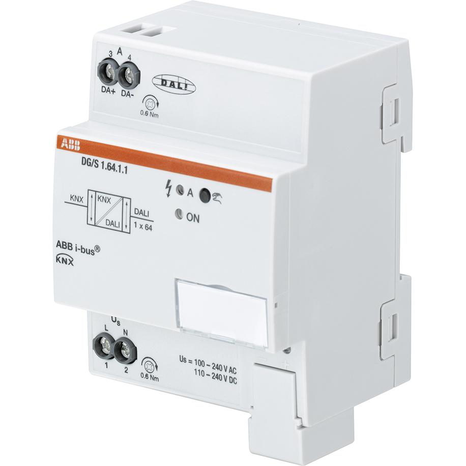 DG/S1.64.1.1 BUS KNX DALI-GATEWAY BASIC 1-V