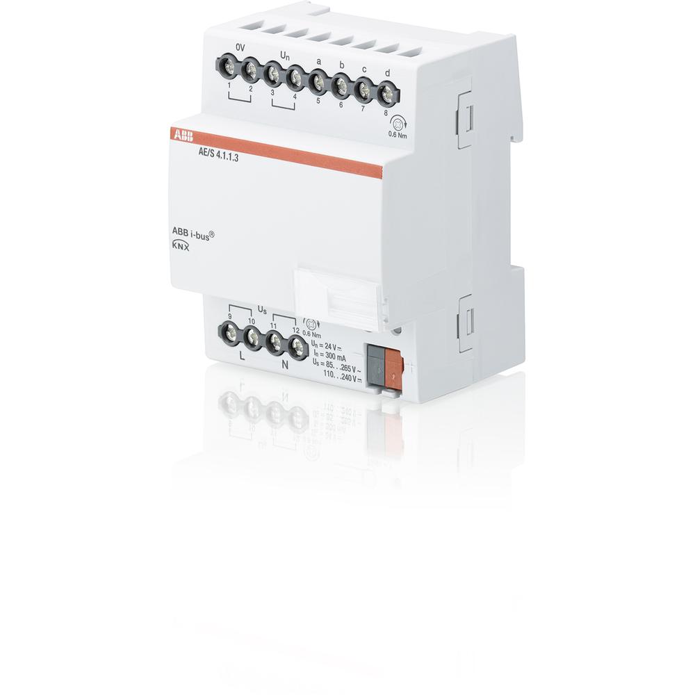 AE/S 4.1.1.3 BUS KNX ANALOGE INGANG 4V DIN-
