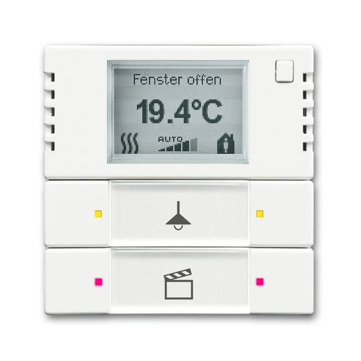 KNX sensor, bedieningselement, 2/4-voudi ,multifunctioneel/kleurconcep