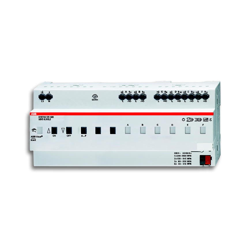 6197/14-101-500 BUS KNX UNIV.DIMAKT.6X315W/VA