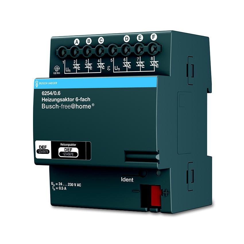 6254/0.6 BUS FAH VERW-AKT.230V 6-V.DIN